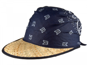 Alice W Straw Hat Natural/Blue