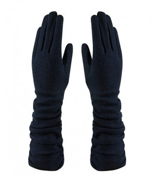 Amanda Wool Mix Glove - Navy