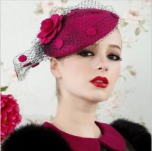 Charlotte Hot Pink Fascinator