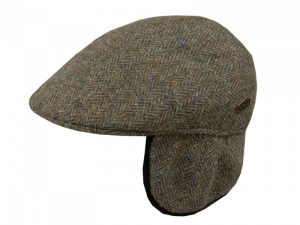 Country EL Harris Tweed Green Heeringbone