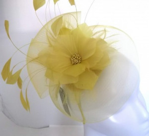 Fascinator SG409 (Lemon)