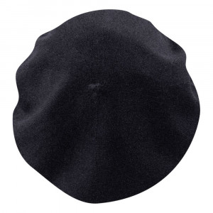 Kids' French Beret - black