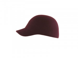 Kitty W – Wool Felt bordeaux