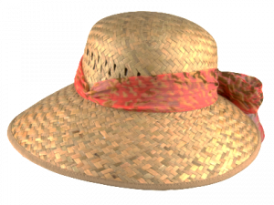 Livia W Straw Hat Natural