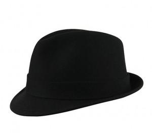 London W – Wool – Black
