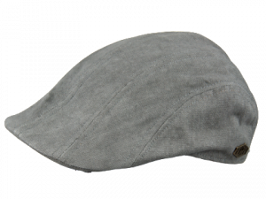 Maddy Canvas 100 % Cotton Navy flat cap