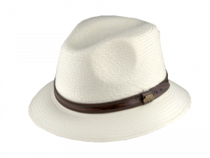 Panama Natural Hat White