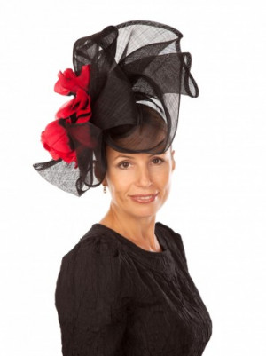 Occasion Hat Black/Red