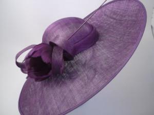 Occasion Hat Purple