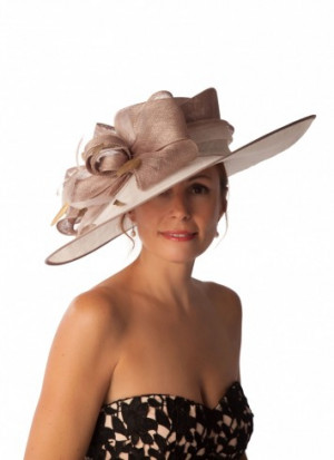 Occasion Hat SG598 (Pumice/Ivory)