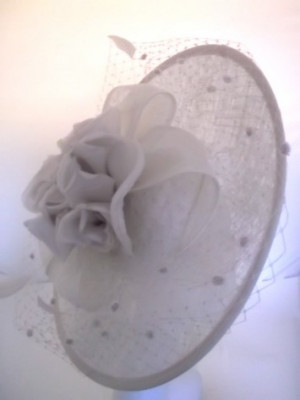 Occasion Hat SG900 (Ivory/Almond)