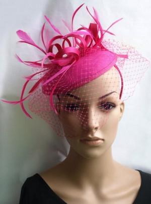 Odelia Fuschia Pink Fascinator