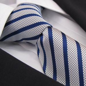 Blue Velvet Polyester Tie