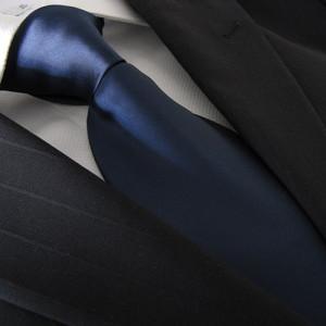 Buio Blu Polyester Tie