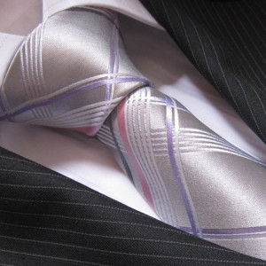 The Silver Lining - seven-fold tie