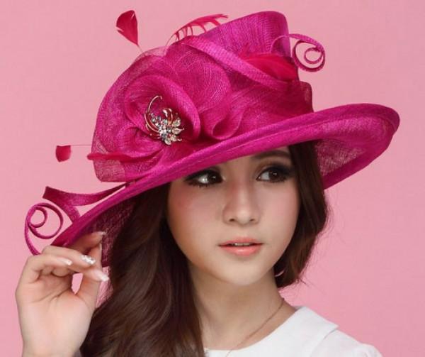 Rosa Fuschia / Hot Pink Hat